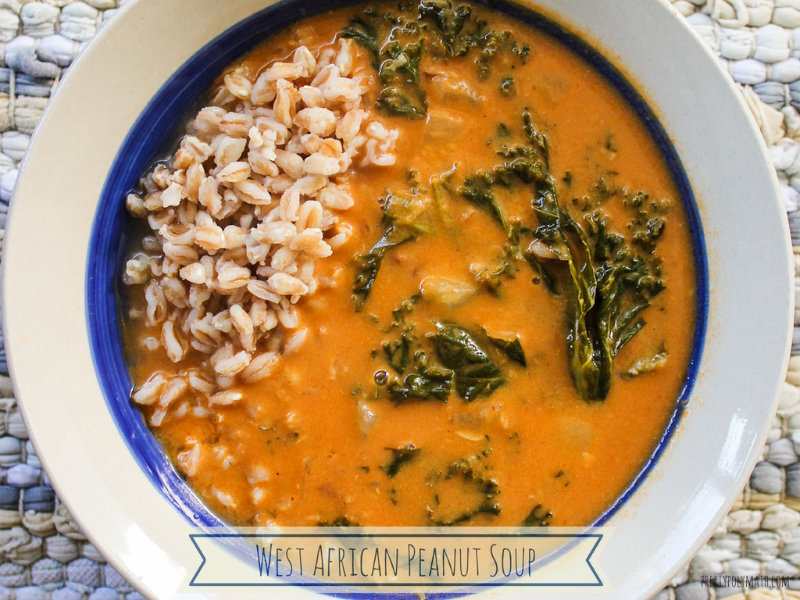 West African Peanut Soup | Pretty Polymath